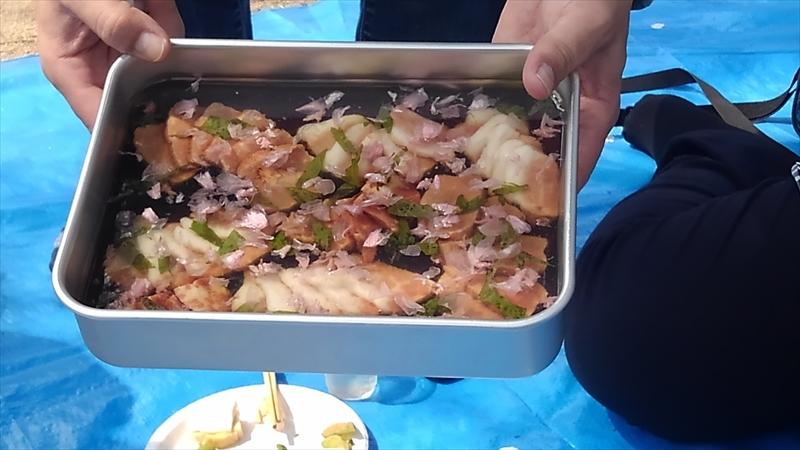 桜肉のジュレ